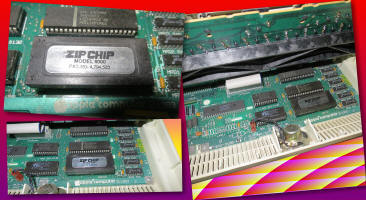 4MHz Zip Chip 4000 installed in Apple IIc