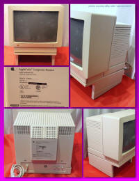 AppleColor Composite Monitor (IIc) with Apple II Monitor Stand