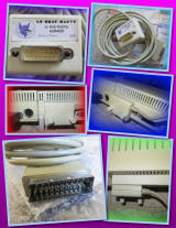 Le Chat Mauve RGB SCART/PERITEL adapter A2M4020F for Apple //c